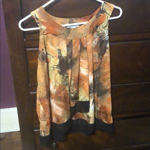 Dressbarn XLP shell in oranges and sparkle color